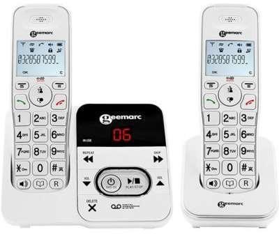Téléphone sans fil Geemarc