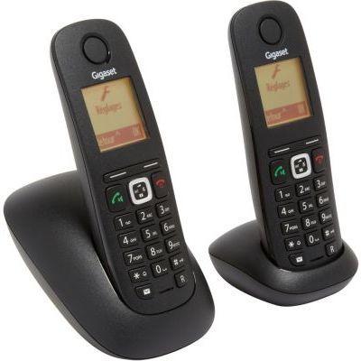 telephone sans fil gigaset gigaset a540 duo noir. Black Bedroom Furniture Sets. Home Design Ideas