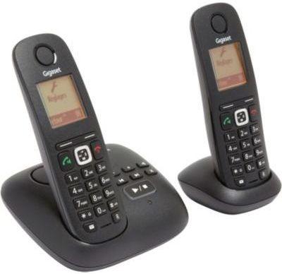 telephone sans fil gigaset gigaset a540a trio noir avec. Black Bedroom Furniture Sets. Home Design Ideas