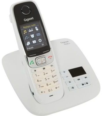 telephone sans fil gigaset siemens gigaset c 620a blanc avec rpondeur. Black Bedroom Furniture Sets. Home Design Ideas