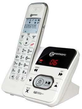 Téléphone répondeur Geemarc