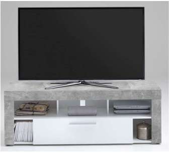 Meuble TV 1 tiroir 5 niches