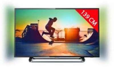 TV LED 4K 139 cm PHILIPS 55PUS6262