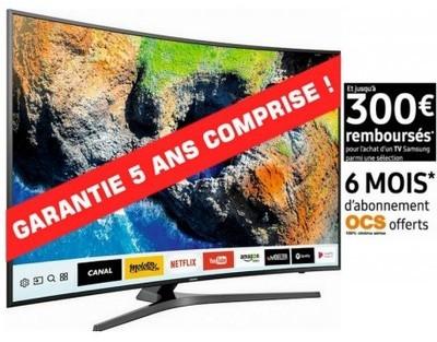 Samsung - ue55mu6645 garantie