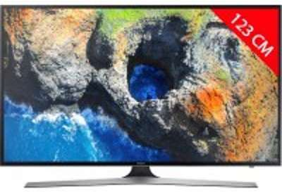 TV LED 4K 123 cm SAMSUNG UE49MU6105