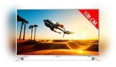 TV LED 4K 108 cm PHILIPS 43PUS7202