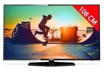 TV LED 4K 108 cm PHILIPS 43PUS6162
