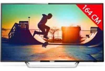 TV LED 4K 164 cm PHILIPS 65PUS6162