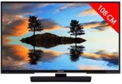 TV LED 4K 108 cm HITACHI 43HK4W04