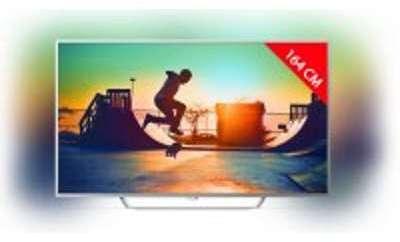TV LED 4K 164 cm PHILIPS 65PUS6412