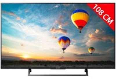 TV LED 4K 108 cm SONY KD43XE8005BAEP