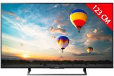 TV LED 4K 123 cm SONY KD49XE8005BAEP