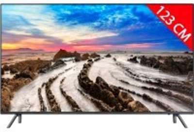 TV LED 4K 123 cm SAMSUNG UE49MU7055