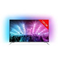 TV LED 4K 139 cm PHILIPS 55PUS7101