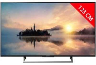TV LED 4K 123 cm SONY KD49XE7005BAEP