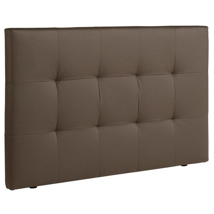 Tête de lit en bois matelassé