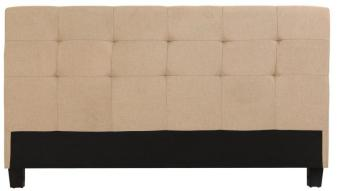 Tête de lit beige pour lits