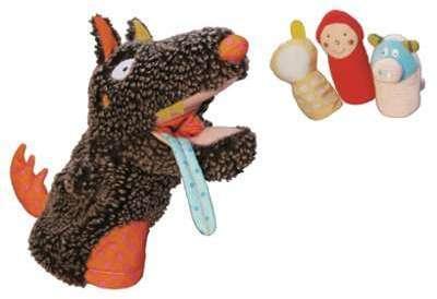 - Marionnette Louloup et 3