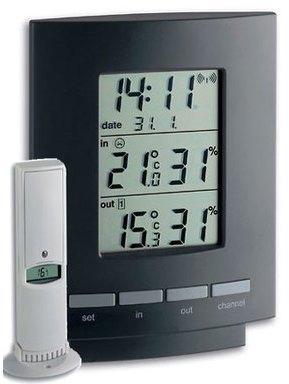 Thermomètre hygromètre sans