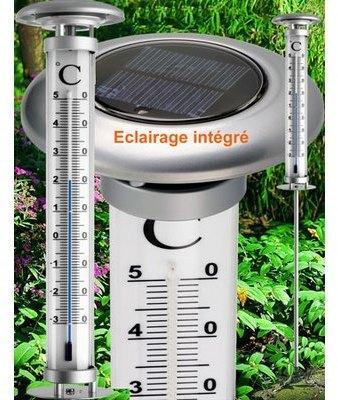 Thermomètre à planter de jardin