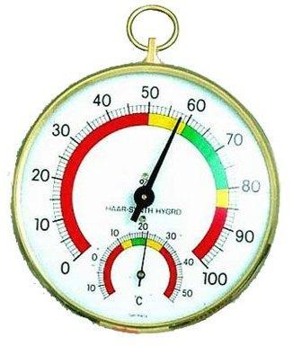Hygromètre à Cheveu et thermomètre