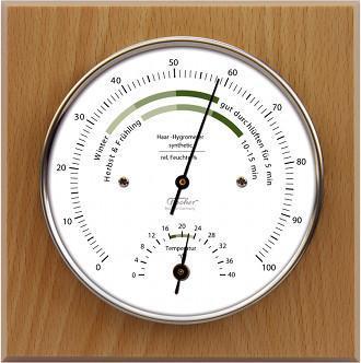 Hygromètre à cheveu Thermomètre