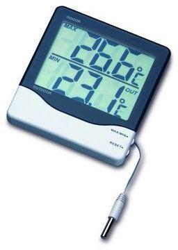 Thermomètre filaire affichage