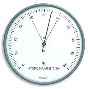 Hygromètre à cheveu grand
