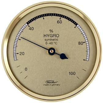Hygromètre à Cheveu synthétique