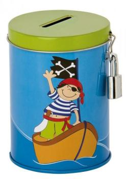 Tirelire enfant Pirate