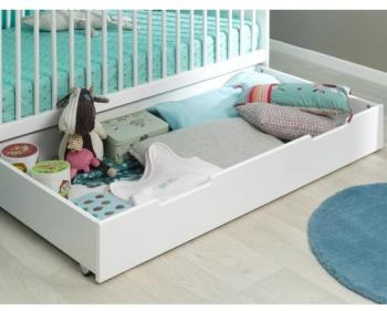pinolino cchambre b b sky blanc lit volutif et commode. Black Bedroom Furniture Sets. Home Design Ideas