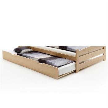 Tiroir-lit en pin GRETA 90