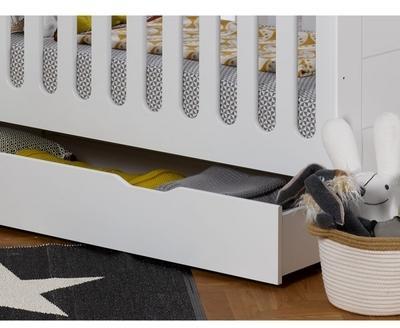 Tiroir lit bébé Module blanc