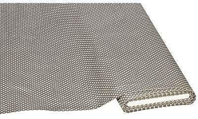 Toile cirée points gris blanc