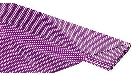 Toile cirée points violet