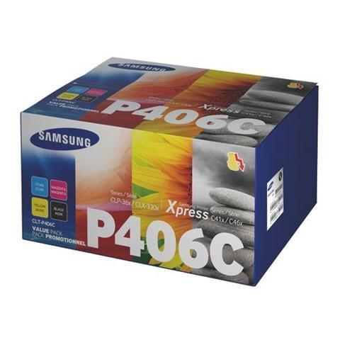 Samsung clt-p406c- pack 4