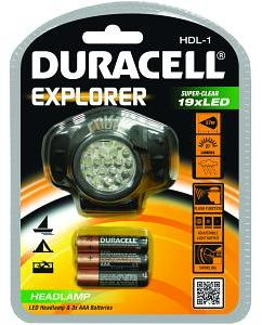 Duracell Lampe Frontale Explorer