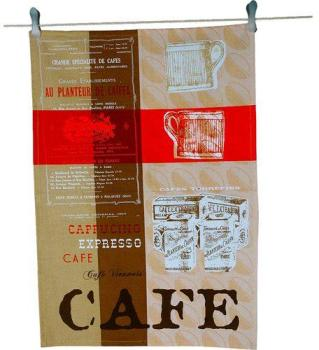 Torchon Imprimé CAFE