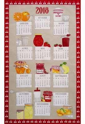 Torchon calendrier Matin Gourmand