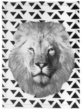 Torchon Lion Face 50 x 70