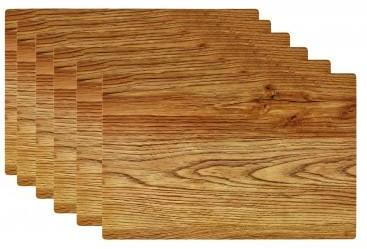 Set de Table Design Bois Clair