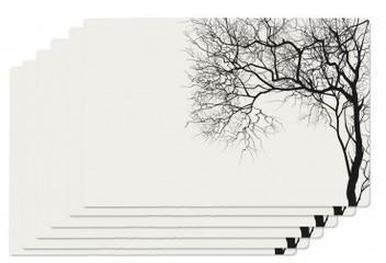 Set de Table Vinyle Noir et