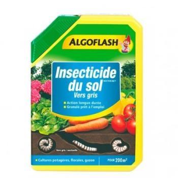 Insecticide du sol vers gris