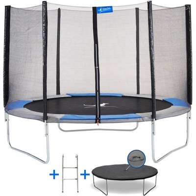 jumpstar trampoline classic 300cm 3m avec filet de sc. Black Bedroom Furniture Sets. Home Design Ideas