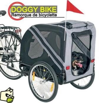 Doggy-Bike Grise Noire