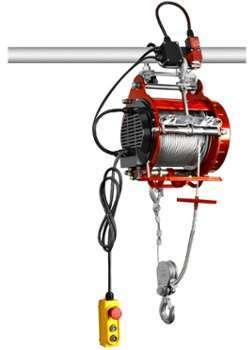 Palan électrique robuste 400