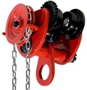 Chariot 2 tonnes avec chaîne