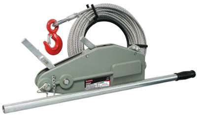 Palan câble en acier - Cap
