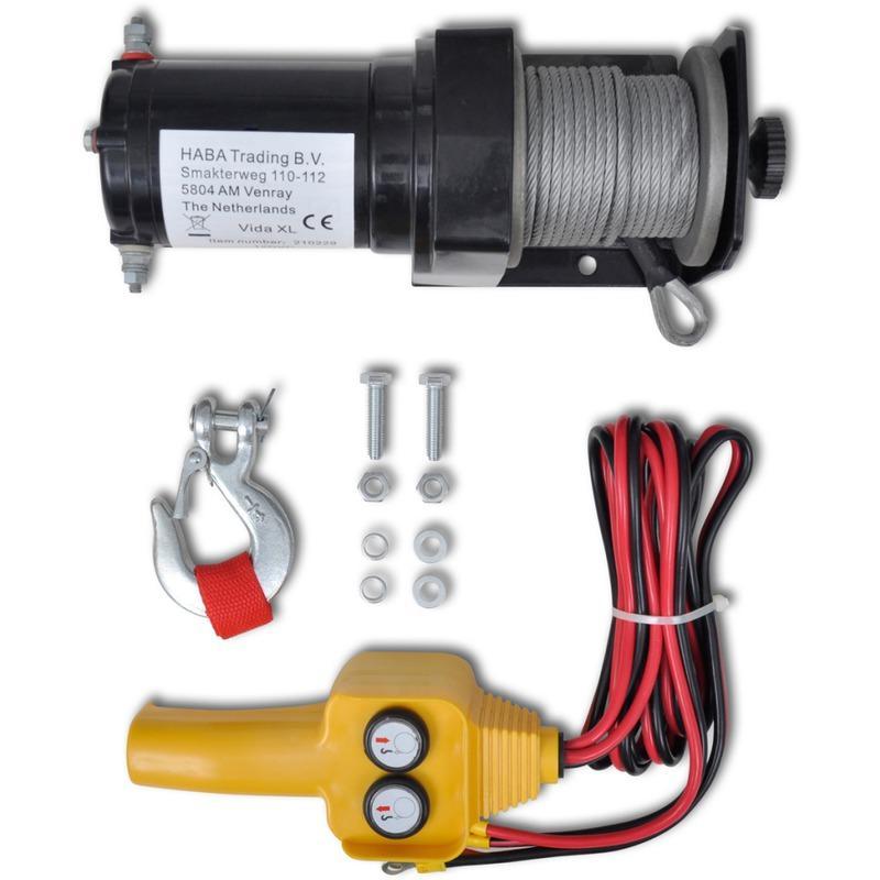 VidaXL Treuil électrique 12