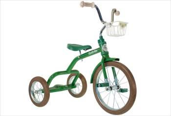 Grand tricycle vintage vert